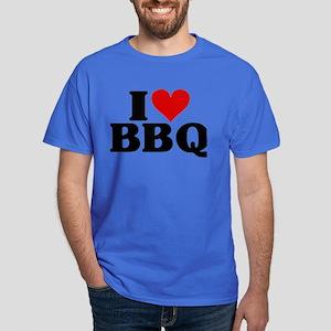 I Heart BBQ Dark T-Shirt