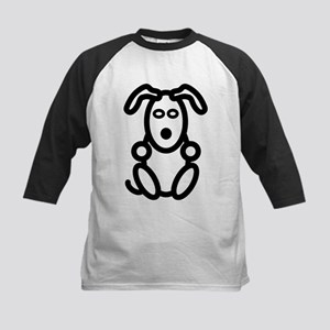 Just The Dog ... Front and Back Kids Baseball Jers