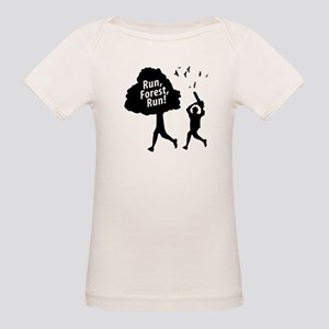 Run Forest Run | Organic Baby T-Shirt