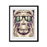 Sasquatch Incognito Framed Panel Print