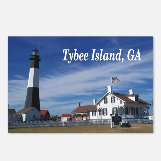 Tybee Island Postcards (Package of 8)