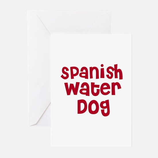 Spanish Water Dog Greeting Cards (Pk of 10)