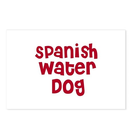 Spanish Water Dog Postcards (Package of 8)