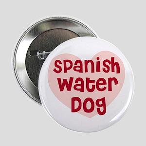 Spanish Water Dog Button