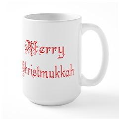 Merry Christmukkah Large Mug