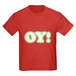 Christmas Oy! Kids Dark T-Shirt