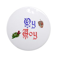 Oy Joy Chrismukkah Tree Ornament