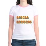 Shiksa Goddess Jr. Ringer T-Shirt