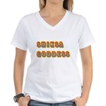 Shiksa Goddess Women's V-Neck T-Shirt