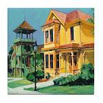 Heritage Park Old Town San Diego Tile Coaster