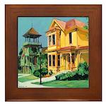Heritage Park Old Town San Diego Framed Tile