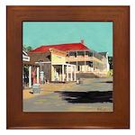 Calhoun Street by RD Riccoboni Framed Tile