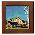 Marston House by Riccoboni Framed Tile