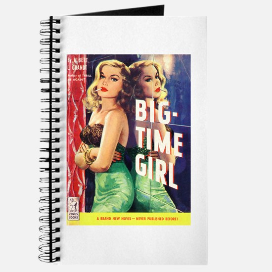 Sexy Girl Pulp Fiction Journal