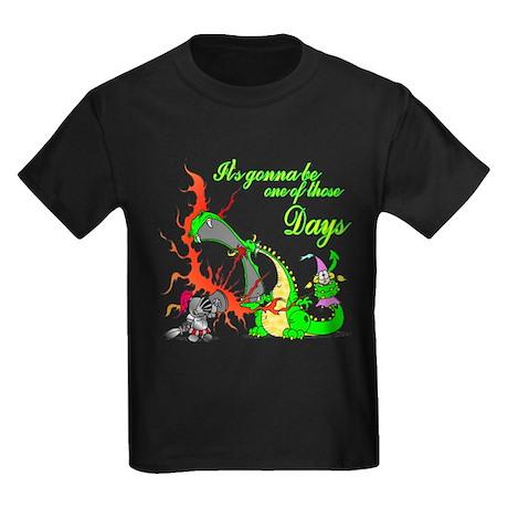 Knights Bad Day Kids Dark T-Shirt