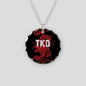 TKD Dragon Necklace