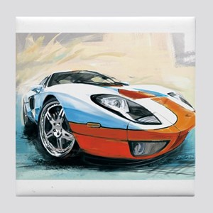 FORD GT-40 Tile Coaster