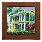Morning Light Burton House Framed Tile