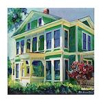 Morning Light Burton House Tile Coaster