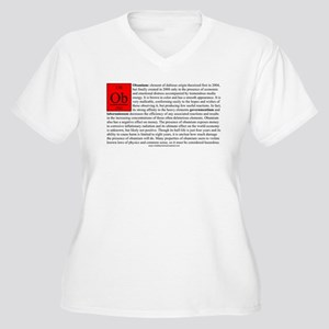 Obamium Women's Plus Size V-Neck T-Shirt