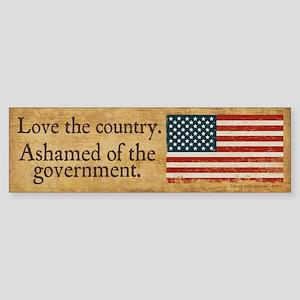 Love the Country Sticker (Bumper)