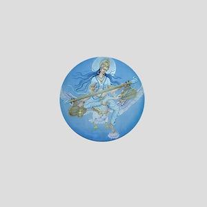 Saraswati Mini Button