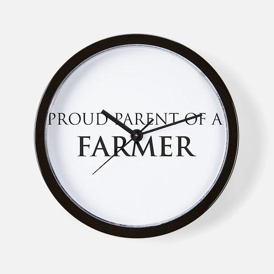 Proud Parent: Farmer Wall Clock