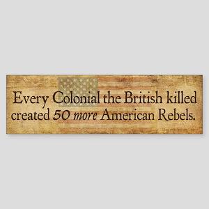 British Blowback Sticker (Bumper)