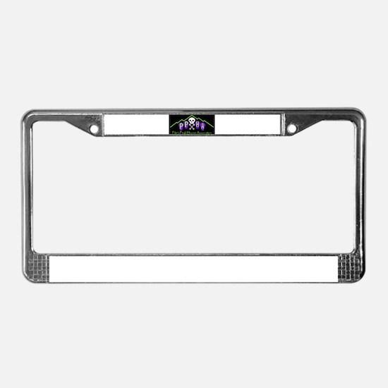 Unique Pueblo License Plate Frame