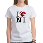 Women's 'I Love N.I.' T-Shirt