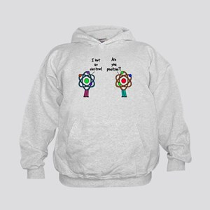 I Lost An Electron Are You Po Kids Hoodie
