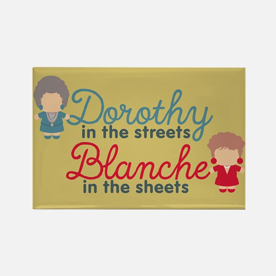 GG Dorothy Blanche Magnets