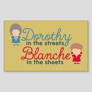 GG Dorothy Blanche Sticker