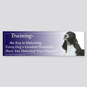 Training Potential:Springer Sticker (Bumper)