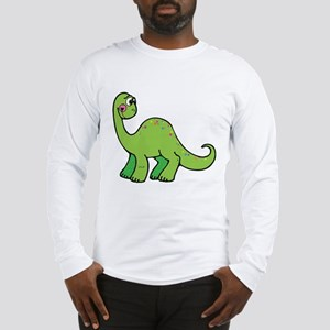 Green Dinosaur Long Sleeve T-Shirt