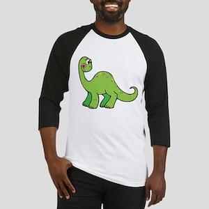Green Dinosaur Baseball Jersey