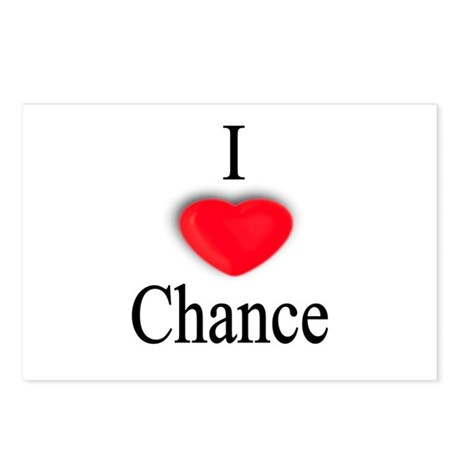 Chance Postcards (Package of 8)
