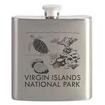Virgin Islands National Park Flask