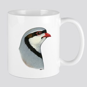 Chukar Partridge Head Mug