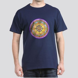 Sundance Tree II Mandala Dark T-Shirt