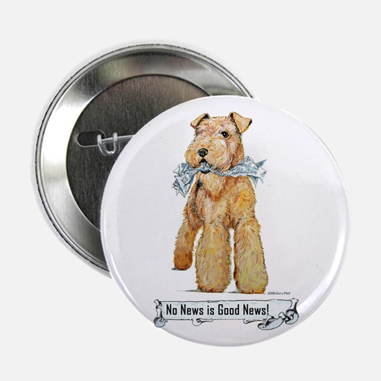 Airedale Good News! Button