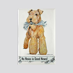 Airedale Good News! Rectangle Magnet