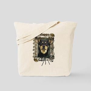 Stone Paws Australian Kelpie Tote Bag