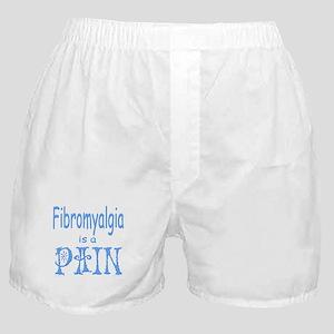 Fibromyalgia is a Pain Boxer Shorts