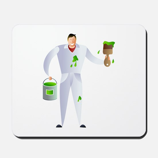 painter and decorator Mousepad