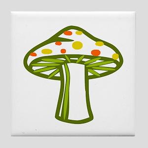 Wonderland Mushroom Tile Coaster