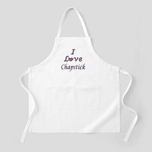 I Love Chapstick BBQ Apron