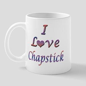 I Love Chapstick Mug