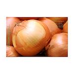 Yellow Onion Mini Poster Print