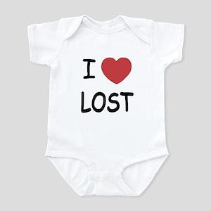 I heart lost Infant Bodysuit